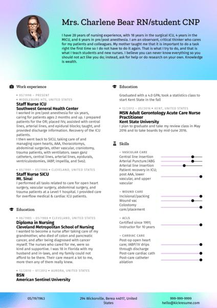Senior management resume examples