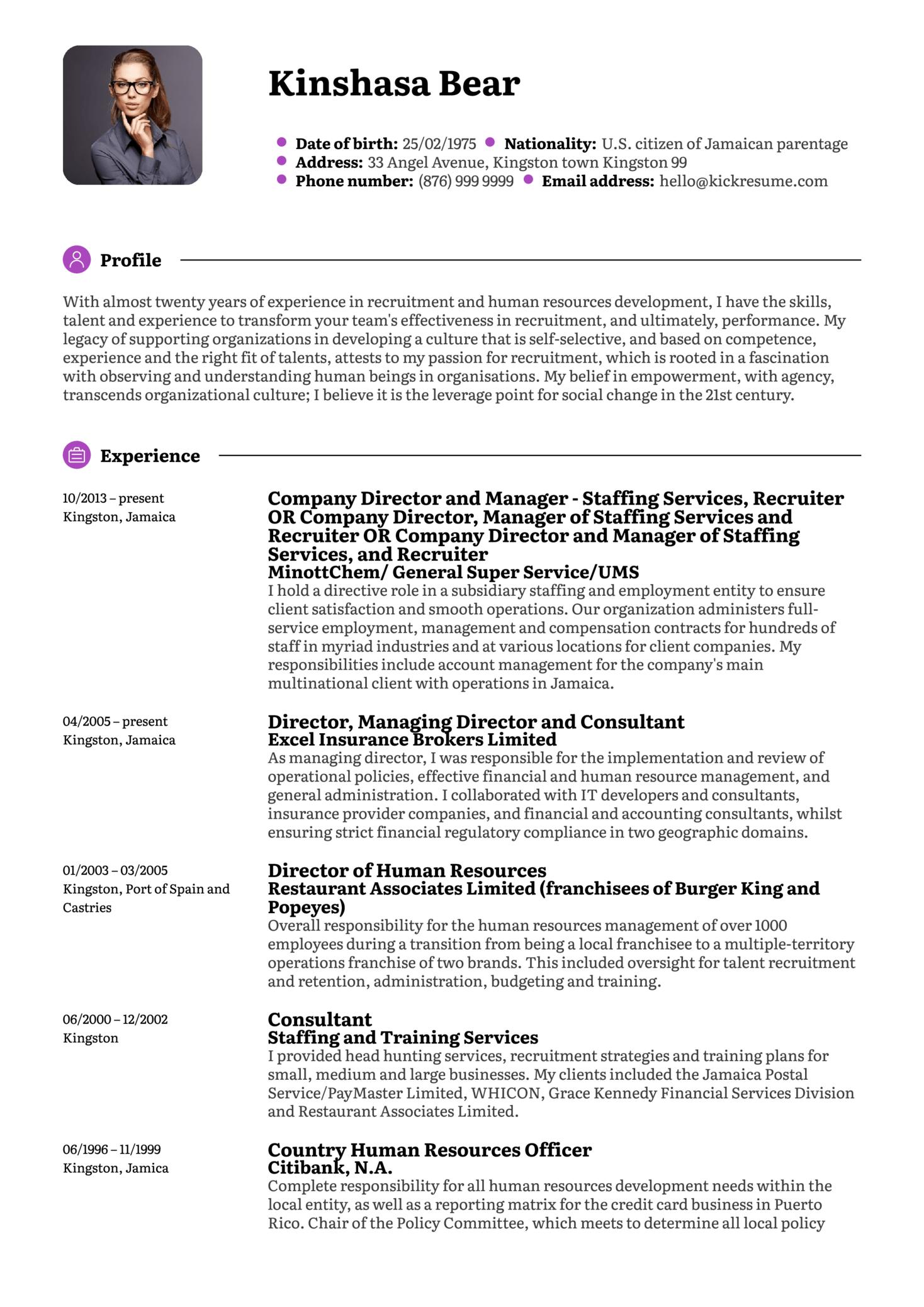 Entry Level Recruiter Resume Sample  Recruiter Resumes