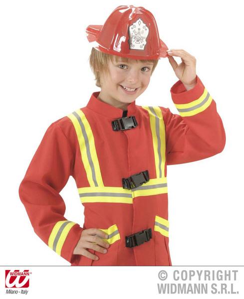 PVC Fireman Hat for Firefighter Fireman Fancy Dress Accessory