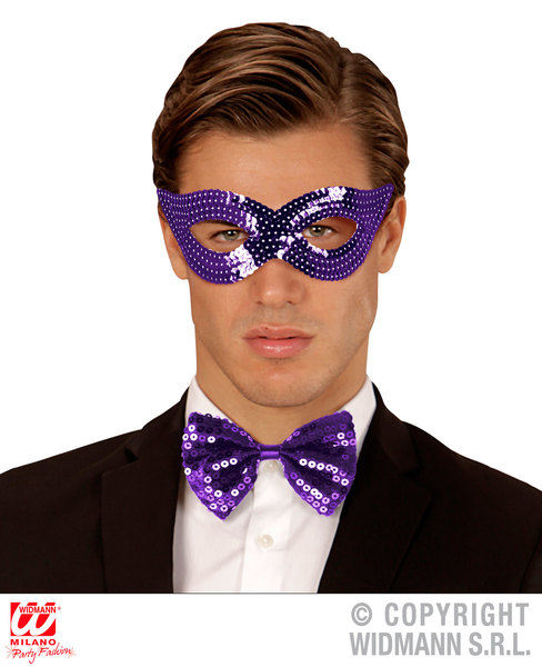 Sequin Eyemask Eye-Mask Masquerade Ball Mask Fancy Dress