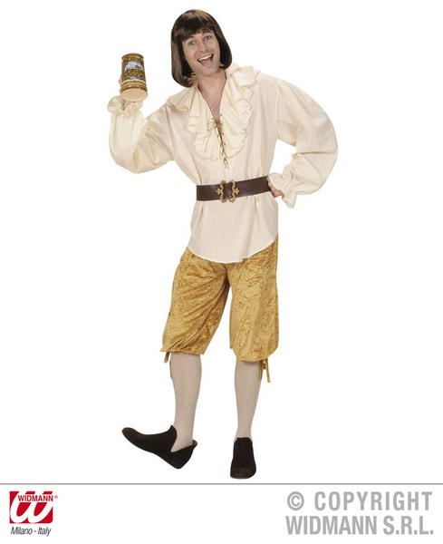 Velvetet Pantaloni Alla Zuava per Pirata Bucaniere Costume