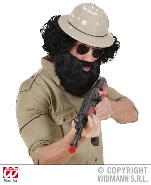 Carattere barba con Tash Baffi Tash false Barba Costume