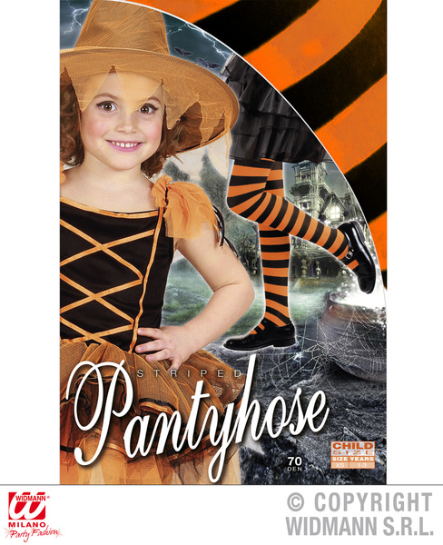 Girls Childrens Striped Tights for Kids Halloween Dancing Accessories
