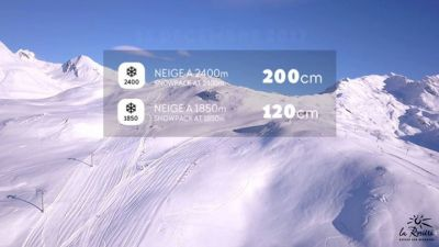 Post facebook dalle piste da sci di  Espace San Bernardo