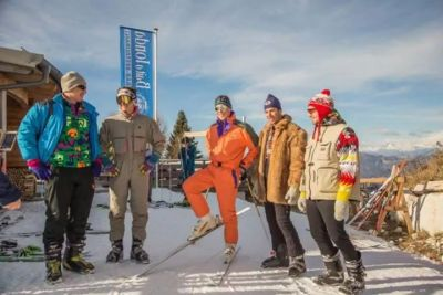 Post facebook dalle piste da sci di  Folgaria