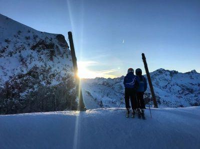 Post facebook dalle piste da sci di  Limone Piemonte