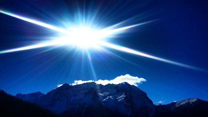 Foto dalla piste da sci Via Lattea