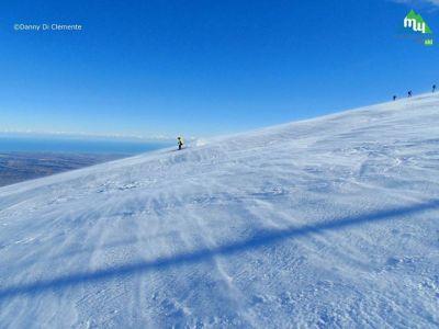 Post facebook dalle piste da sci di  Passo Lanciano - Majelletta