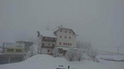 Post facebook dalle piste da sci di  Carezza Ski