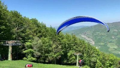 Post facebook dalle piste da sci di  Corno alle Scale