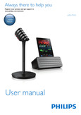 Philips wireless microphone   Bluetooth  speaker AEA7000 for iPad - User manual