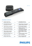 Philips Universal remote SJM3152 For iPod - User manual