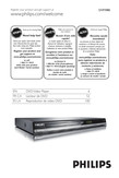 Philips DVD player DVP3980 HDMI 1080p - User manual