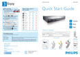 Philips DVD recorder VCR i LINK digital input - Quick start guide