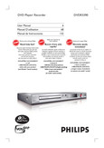 Philips DVD Player Recorder - User manual