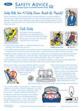 Mercury Grand Marquis 2007 - Safety Advice Card Printing 1 (pdf)