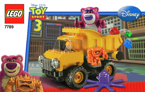 lego dump truck instructions 7631
