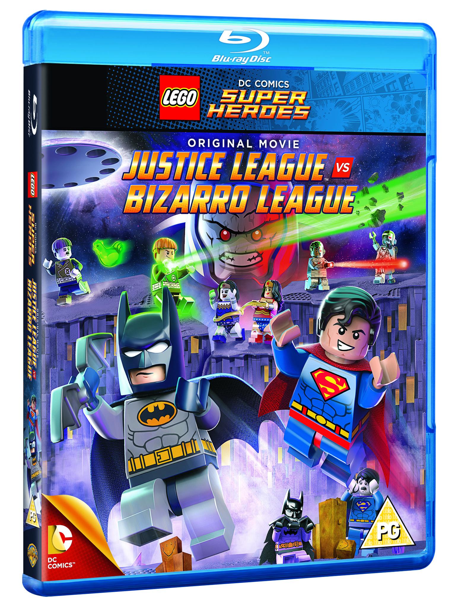 Lego: Justice League Vs Bizarro League  (BLU-RAY)