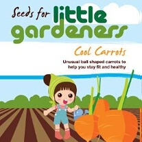 Little Gardeners - Mini Basketball Carrots