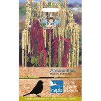 RSPB Amaranthus Ribbons and Beads Seeds