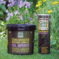 GroChar Carbon Gold Soil Improver 1kg tube