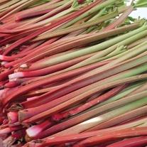 Rhubarb Valentine Crowns
