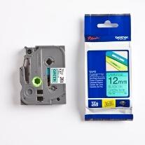 Garden Labeller Refill Tape - black text on green