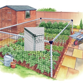 Vegetable Cage - Standard 6'x6'