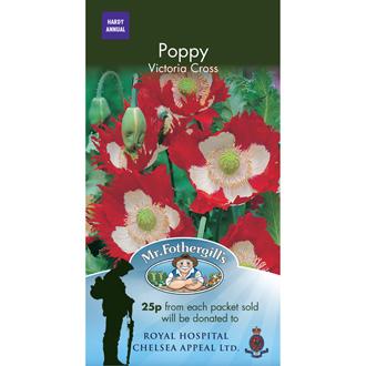Poppy Victoria Cross Seeds