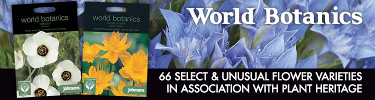 World Botanics Flower Seeds from Johnsons