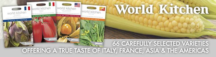 World Kitchen Vegetable Seeds from Johnsons