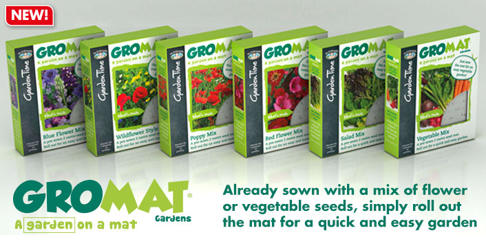 GroMat Flower and Vegetable Seeds