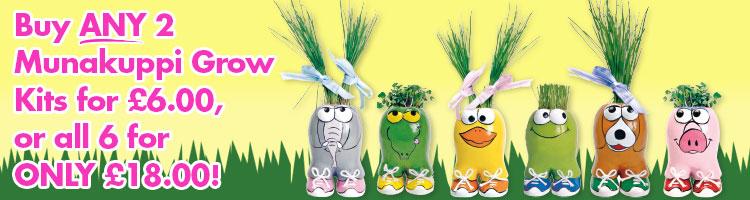 Munakuppi Grow Kits