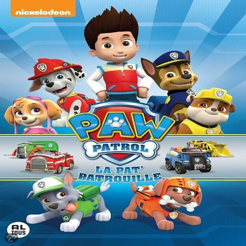 paw patrol la pat patrouille dvd. Black Bedroom Furniture Sets. Home Design Ideas