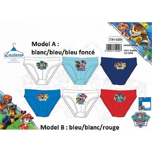 2-3-ANS-Model-B-bleu-blanc-rouge-boite-de-3-slips-PAT-PATROUILLE-100-Coton