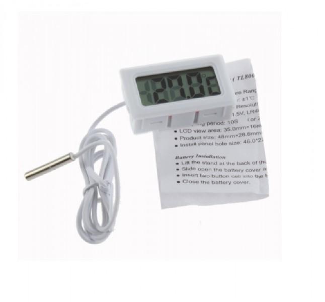 CATCO® Thermometre digital aquarium, frigo, Ecran LCD, sonde...