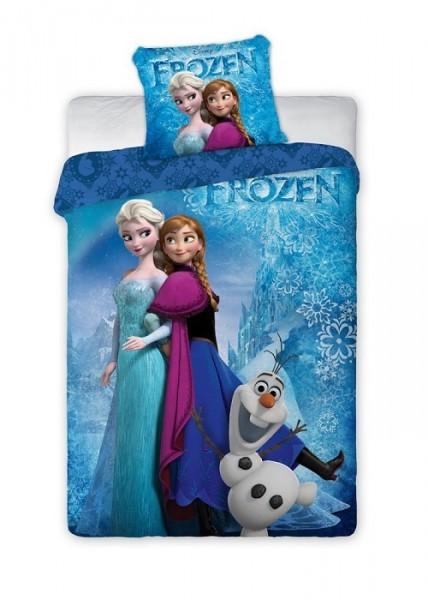 parure de lit la reine des neiges frozen disney housse de couette taie neuf ebay. Black Bedroom Furniture Sets. Home Design Ideas