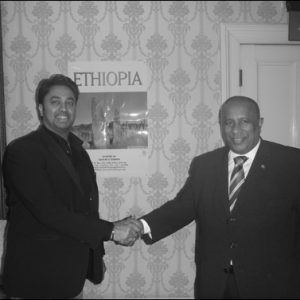 Ambassador Berhanu