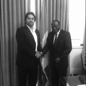 Ambassador for Ivory Coast