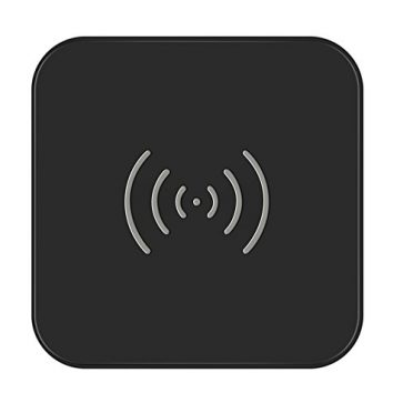 CHOETECH [QI Certificated] Wireless Charger, Upgraded Standard QI Wireless Charging Pad for iPhone 8/8 Plus, iPhone X, Galaxy S8/S8 Plus, Note 8, Note 5, S6 Edge+/S6/S6 Edge/S7 Edge