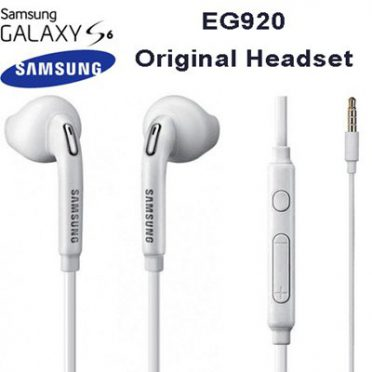 SAMSUNG EO-EG920BW 3.5 mm Jack In Ear Handsfree Stereo Headphones with Remote and Microphone – White