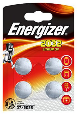 Energizer 2032 Lithium Coin Battery – Pack of 4