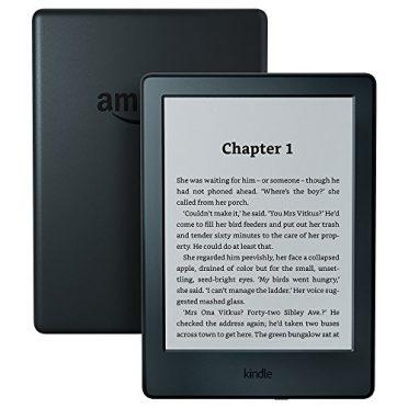 Kindle E-Reader, 6″ Glare-Free Touchscreen Display, Wi-Fi