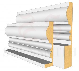 Wessex Profile Skirting Board