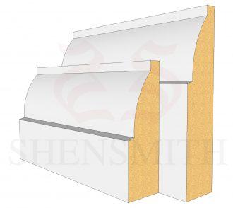 Ovolo Profile Skirting Board
