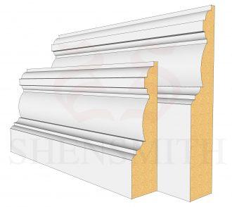 Edwardian Profile Skirting Board