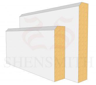 Edge 2 Profile Skirting Board