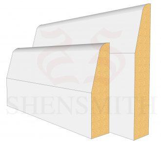 Chamfered Profile Skirting Board