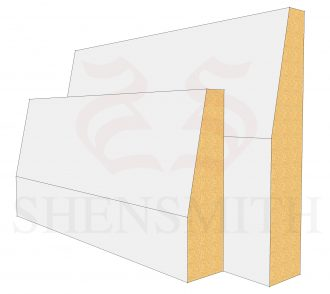 Bevelled Profile Skirting Board