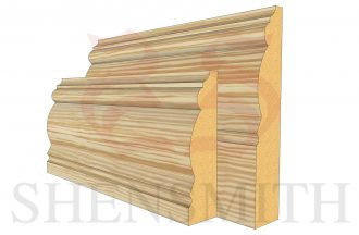 2305 profile Pine Skirting Board